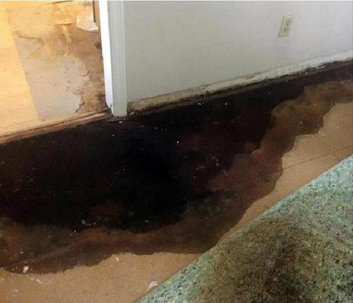 water damaged property